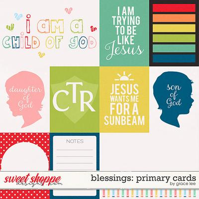 Blessings: Primary Cards by Grace Lee