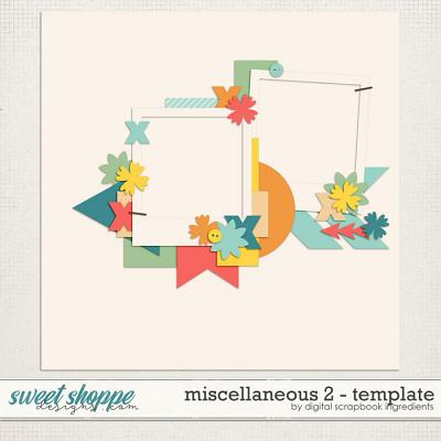 Miscellaneous 2 Template by Digital Scrapbook Ingredients