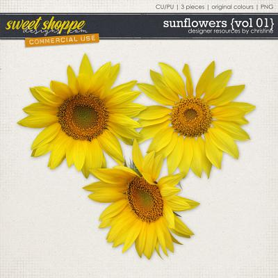 Sunflowers {Vol 01} by Christine Mortimer