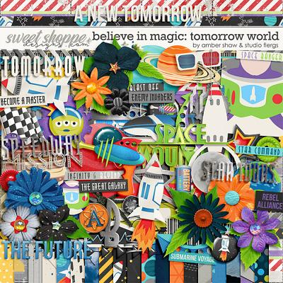 Believe in Magic: Tomorrow World by Amber Shaw & Studio Flergs