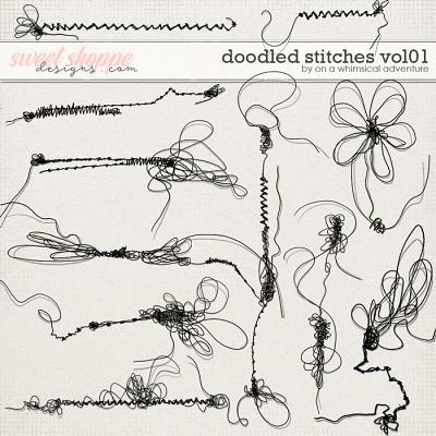 Doodled Stitches Vol01 by On A Whimsical Adventure