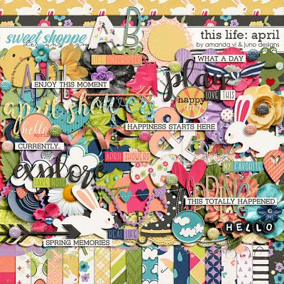 This Life: April by Amanda Yi & Juno Designs