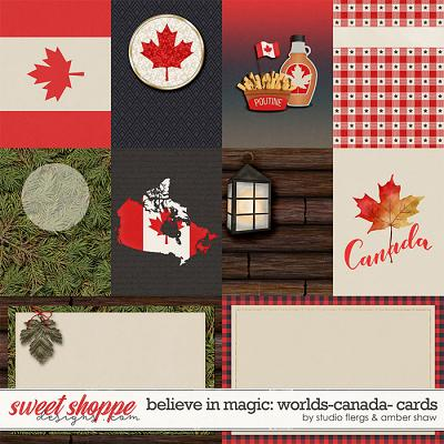 Belive in Magic: Worlds Canada Cards by Amber Shaw & Studio Flergs