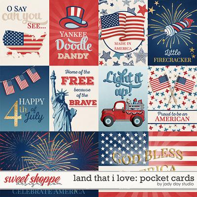 Land That I Love Pocket Cards by Jady Day Studio