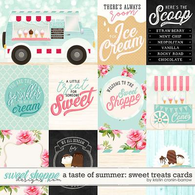 A Taste of Summer: Sweet Treats Cards