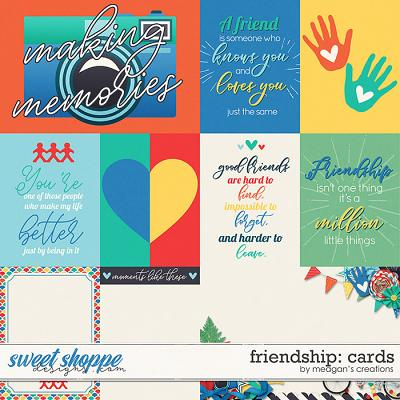 Friendship Cards by Meagan's Creations