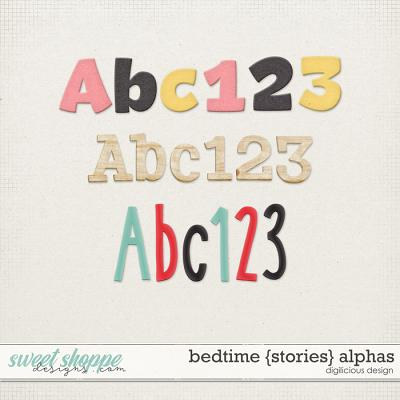 Bedtime {Stories} Alphas by Digilicious Design