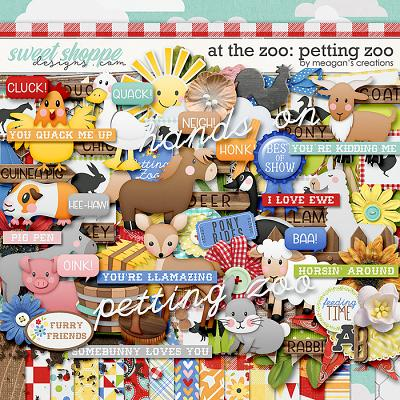 At the Zoo: Petting Zoo by Meagan's Creations