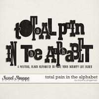 Total Pain in the Alphabet by Shawna Clingerman