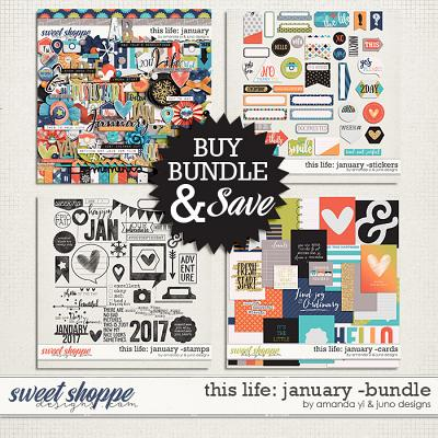 This Life: January - Bundle by Amanda Yi & Juno Designs