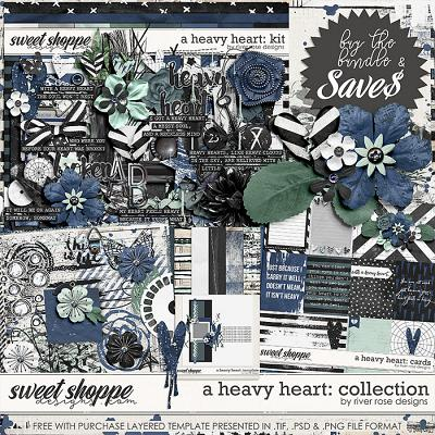 A Heavy Heart: Collection + FWP by River Rose Designs