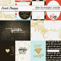 She Is Magic-cards by Studio Basic and Meghan Mullens