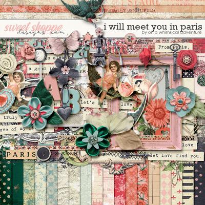 I Will Meet You In Paris Kit by On A Whimsical Adventure