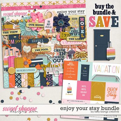 Enjoy Your Stay Bundle by Kelly Bangs Creative