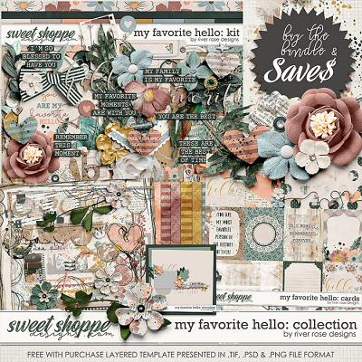 My Favorite Hello: Collection + FWP by River Rose Designs