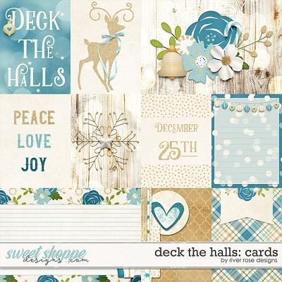 Deck the Halls: Cards by River Rose Designs