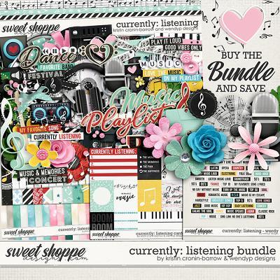 Currently: Listening - bundle by Kristin Cronin-Barrow & WendyP Designs