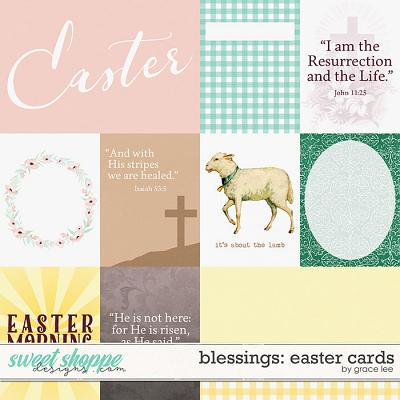Blessings: Easter Cards by Grace Lee