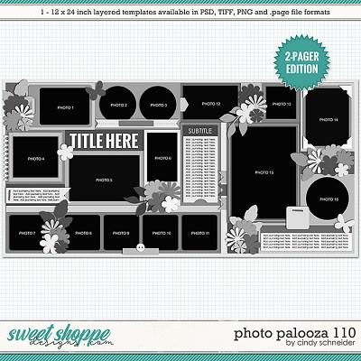 Cindy's Layered Templates - Photo Palooza 110 by Cindy Schneider