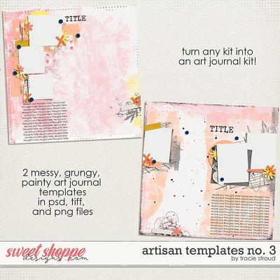 Artisan Templates no. 3 by Tracie Stroud