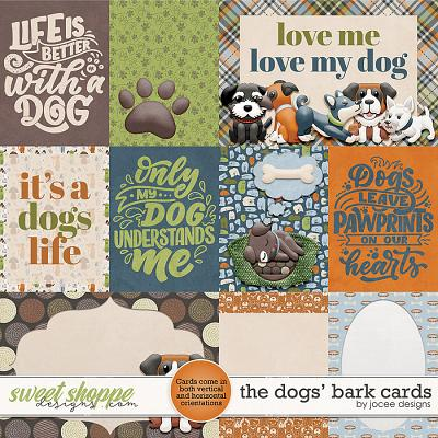 The Dogs Bark Cards by JoCee Designs