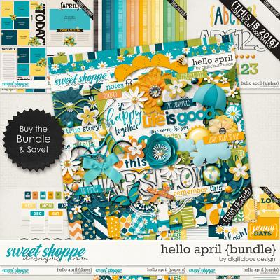 Hello April {Bundle} by Digilicious Design