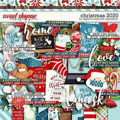 Christmas 2020 by Digital Scrapbook Ingredients