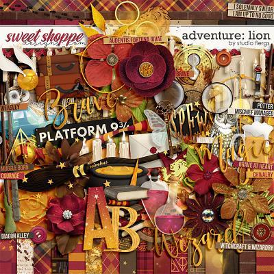 Adventure: Lion- by Studio Flergs