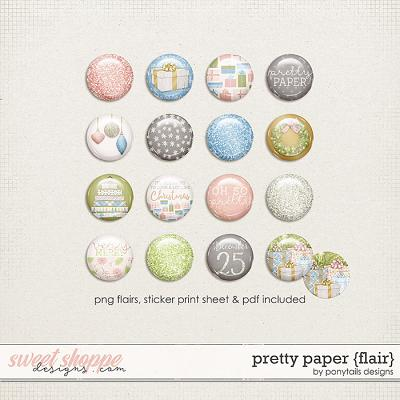 Pretty Paper Flair by Ponytails