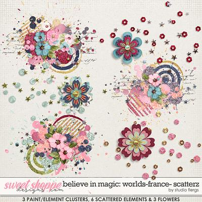 Believe in Magic: WORLDS- FRANCE- SCATTERZ by Studio Flergs
