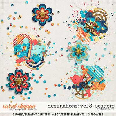 Destinations: Vol 3 - Scatterz by Studio Flergs