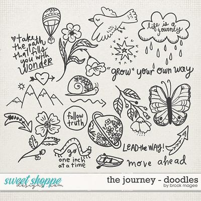 The Journey - Doodles by Brook Magee