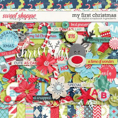 My First Christmas by Digital Scrapbook Ingredients
