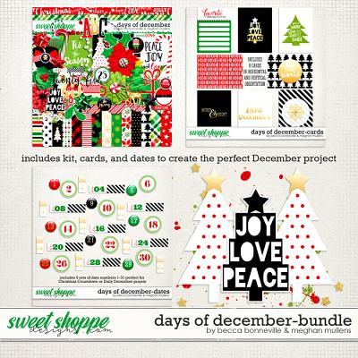 Days of December Bundle by Meghan Mullens & Becca Bonneville
