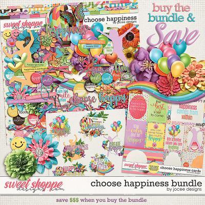 Choose Happiness Bundle by JoCee Designs