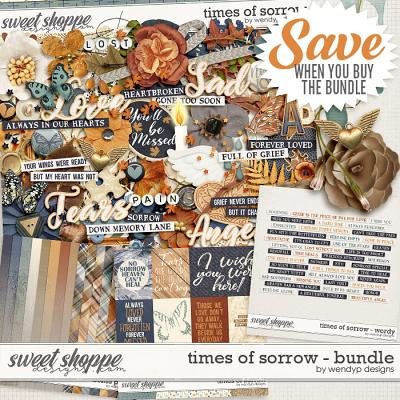 Times of sorrow - Bundle by WendyP Designs