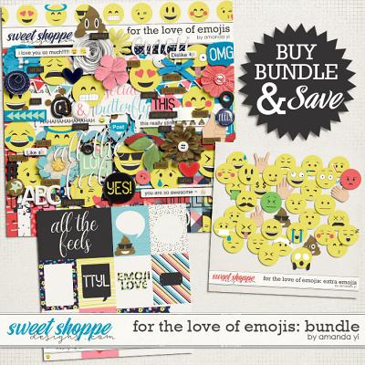 For The Love Of Emojis: Bundle by Amanda Yi