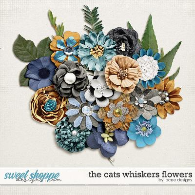 The Cats Whiskers Flowers by JoCee Designs