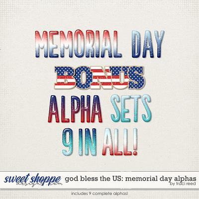 God Bless The US: Memorial Day Alphas by Traci Reed