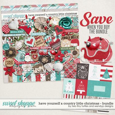 Have Yourself A Country Little Christmas: Bundle by WendyP Designs & Two Tiny Turtles