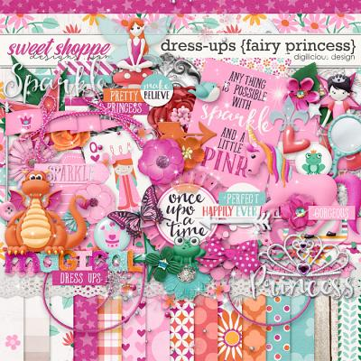 Dress-ups {Fairy Princess} Kit by Digilicious Design