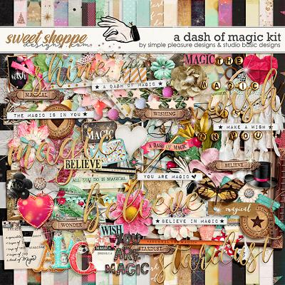 A Dash Of Magic Kit by Simple Pleasure Designs and Studio Basic