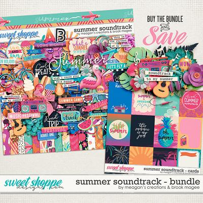 Summer Soundtrack : Bundle by Brook Magee & Meagan's Creations