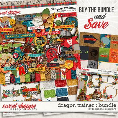 Dragon Trainer : Collection Bundle by Meagan's Creations