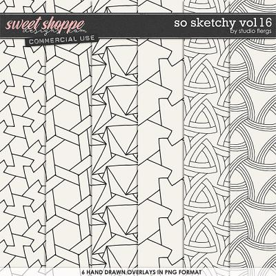 So Sketchy VOL 16 by Studio Flergs