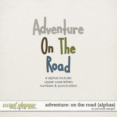 Adventure: On the Road Alphas by Ponytails