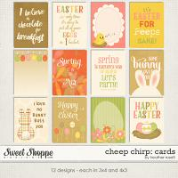 Cheep Chirp: Cards by Heather Roselli