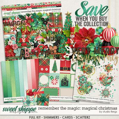 Remember the Magic: MAGICAL CHRISTMAS- COLLECTION & *FWP* by Studio Flergs