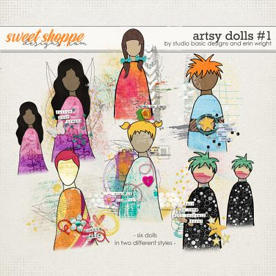 Artsy Dolls #1 by Studio Basic and Erin Wright