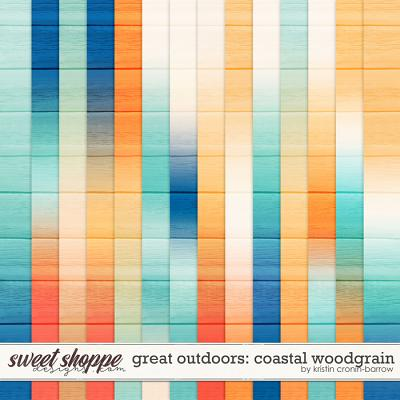 Great Outdoors: Coastal Woodgrain by Kristin Cronin-Barrow